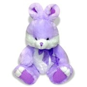 Archies Purple Rabbit Soft Toy