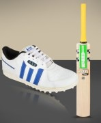 Cricket Bat & Shoes Combo