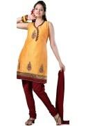 Colourrs Silk Anarkali Suit