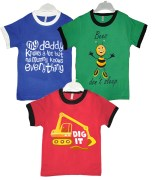 Goodway Junior Boys 3 Pack Style-3 T-Shirts