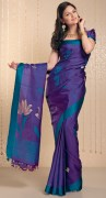 Plain Silk Saree