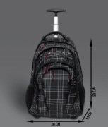 Vital Gear Techno Gear-10 Checked Laptop Backpack