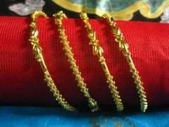 Shree Mauli Creation 61583 Leaf Bangles Set