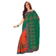 Saffron Collection 2069 Saree