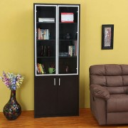 Fab Home Verse Two Door Bookcase