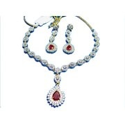 Poddar Jewels A.D Necklace Set-1