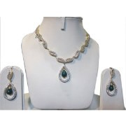 Poddar Jewels A.D Necklace Set-4