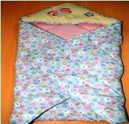 Little Dreams Baby Quilted Wrapper
