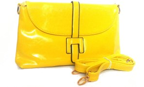 Michelle Designer Collection Clutch / Sling Bag - Yellow
