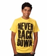 SharkTribe STR11-0007-Neverbackdown T-Shirt