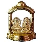 Sharivz Luxmi Ganesh Idol with Temple