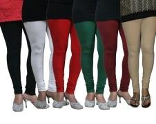 FnMe-fnmelgcom158-Women's Leggings (Pack of 6)