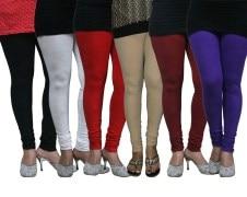 FnMe-fnmelgcom159-Women's Leggings (Pack of 6)