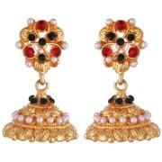 Kshitij Jewels-KJM 092-Traditional Jhumki Earring