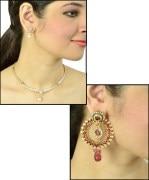 Necklace Set & Earrings Combo