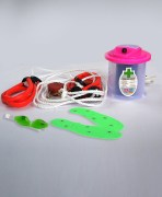 Power Pocket Gym Rope & Eye cool Mask & Crescent Vaporiser combo