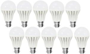 Lubhavini 5 Watt LED bulb Pack of 10 Bulb (LB-5W10)