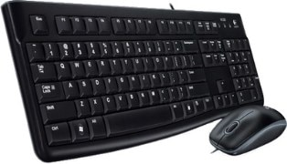 Logitech Keyboard and Mouse Combo MK120 USB 2.0