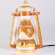 Rajasthan Art Marble Golden painting Lantern