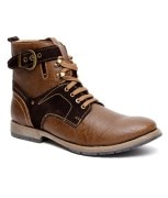 Bacca Bucci kH-LG-001 Fashionable Brown High Ankle Length Boot (kh-LG-brown-001-Brown)