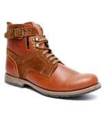 Bacca Bucci Kh-LG-002 Fashionable Tan High Ankle Length Boot (kh-LG-tan-002-Tan)
