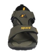 Sparx Stylish Olive Sandals
