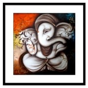 Make Over Art Ganpati Art Print