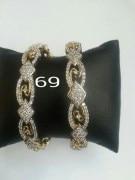 Disha Diamonds 69 Golden Bangles