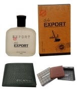 Export Apparel Perfume 100 Ml + 1 Picasso Black Man Wallet