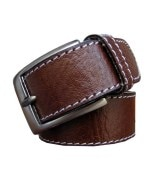 Winsome Deal Leather Shining Stitching Belt