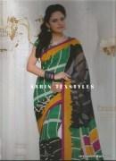 Sarin-1004-A-Swarna Pankh Shiffon Saree