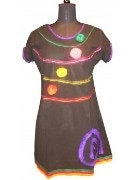 Black Color Designer Kurti
