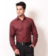 Red Cotton Shirts For Men's