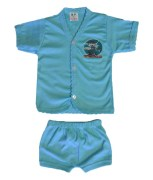 Cool Baby Set of 5 Half Sleeve Tops and Matching Shorts