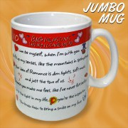 I LOVE YOU Jumbo Mug