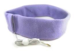Head Band With Earphones For Comfy Sleep