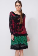 Desigual Off-Shoulder Pullover