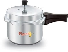 Pigeon Non Induction Base 3 Ltrs Pressure Cooker with Inner Lid
