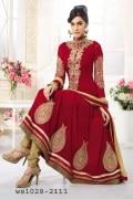 Varun NCV001 Maharoon Women Ethnic Wear