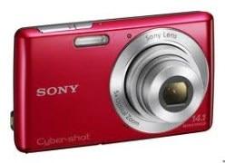 Sony Cybershot DSC W610 Camera