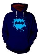 Enquotism Batman Splash Hoodie Sweatshirt
