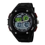 Skmei Imported Trendy Casual Analog & Digital Pu Quartz Watch - NWA05S001C0