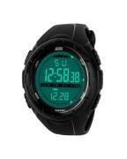 Skmei Imported Trendy Casual Digital Pu Quartz Watch - NWA05S039C0