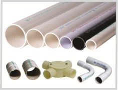 PVC CONDUIT PIPES AND FITTINGS