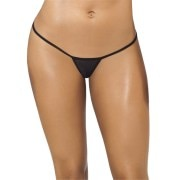 Aliza Black Women's G-string Panty