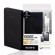 Sony 10000 mah Power Bank (Black & White)