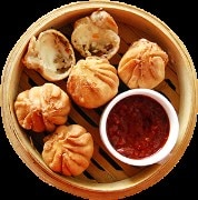 Chocolate momos (only fried)