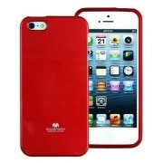 GOOSPERY - Jelly Case for IPhone 5/5C - (Red)