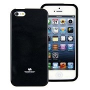 GOOSPERY - Jelly Case for IPhone 5/5S - (Black)