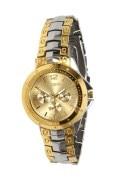 Rosra Steel & Golden Wrist Watch For Men 006